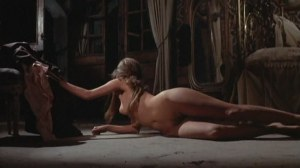 "In John Guillerman's 1970 heist western ""El Condor"", the stars may be Lee Van Cleef and Jim Brown, but the action inexplicably stops dead in its tracks during several brazenly gratuitous scenes where Marianna Hill succumbs to writhing about unclothed for no apparent reason except to expose the infantile nature of Hollywood's newly found direction with the artistic freedom afforded after decades of creative suffocation by the then-recently abandoned Production Code."