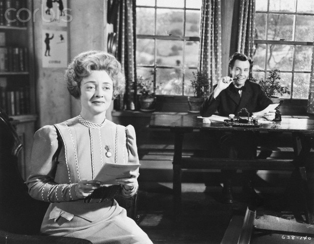 Bette Davis and John Dall in The Corn is Green